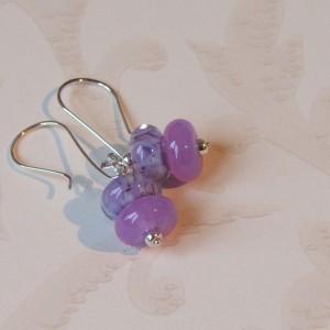 Crocus earrings