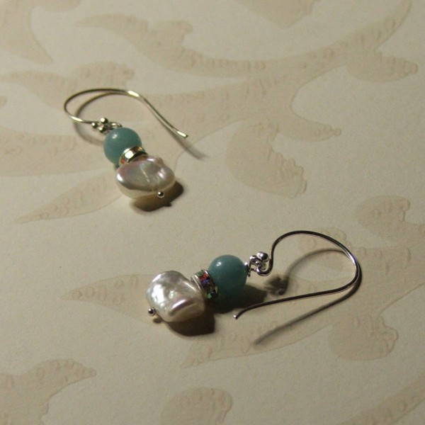 above the clouds earrings seamaidengems jewellery