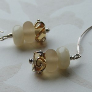 cappucino earrings1 seamaidengems jewellery