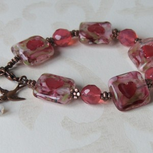 love token bracelet seamaidengems jewellery