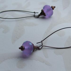 trudi purple spot earrings seamaidengems jewellery1