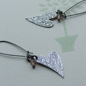 heartsease 2 earrings