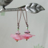 pink flower earrings2