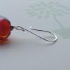 red trudi earrings